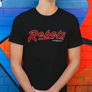Rebels Rock Club Sheffield T-Shirt, Black