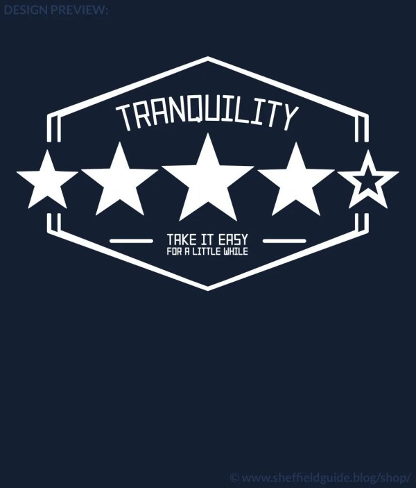 Tranquility: Four out of Five Design Preview