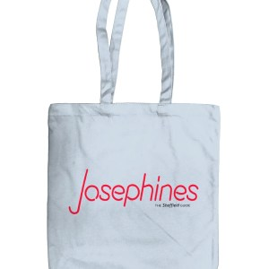 Josephines Sheffield (Neon) Organic Tote Bag, Pastel Blue
