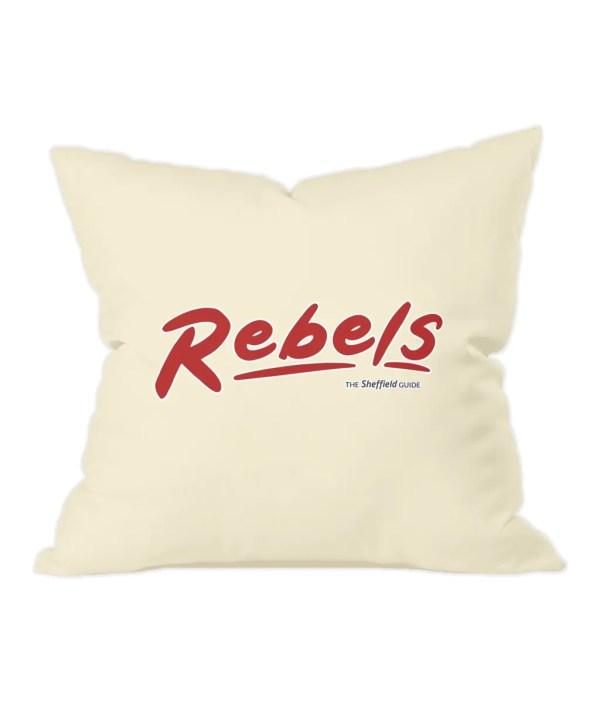 Rebels Rock Nightclub Sheffield Natural Cushion
