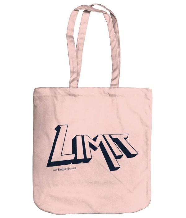 Limit Sheffield Organic Tote Bag, Pastel Pink