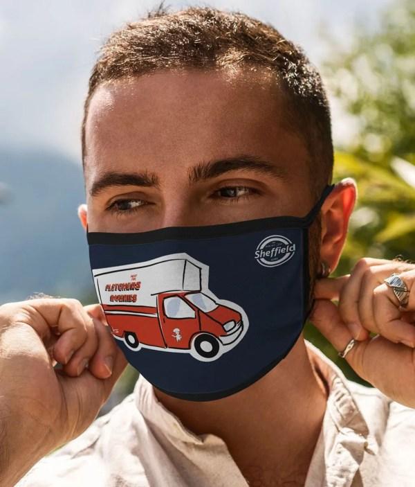 Fletchers Van Face Mask