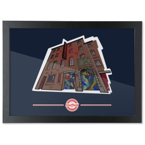 The Leadmill Framed Art Print: Art by James, exclusive to The Sheffield Guide