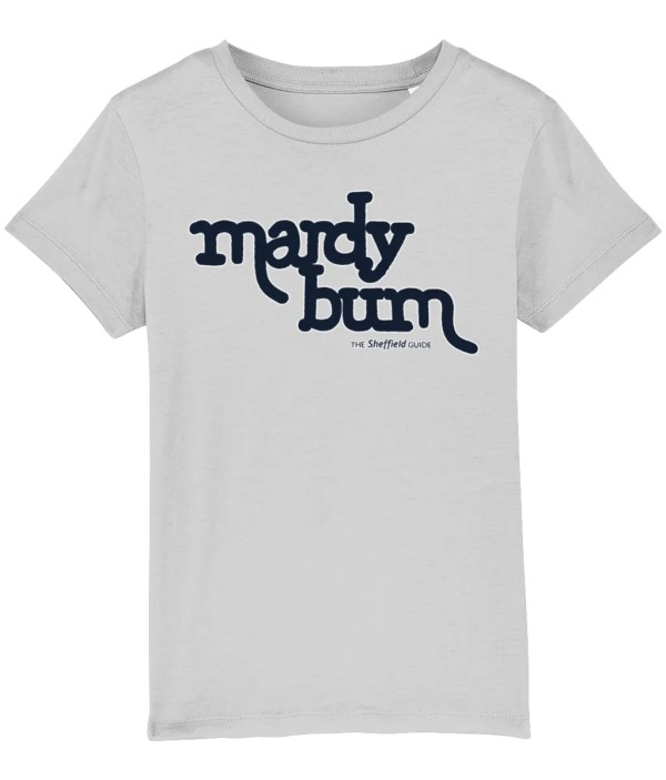 Mardy Bum Kids T-Shirt, Heather Grey