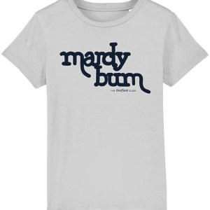 Mardy Bum Kids T-Shirt, Heather Grey