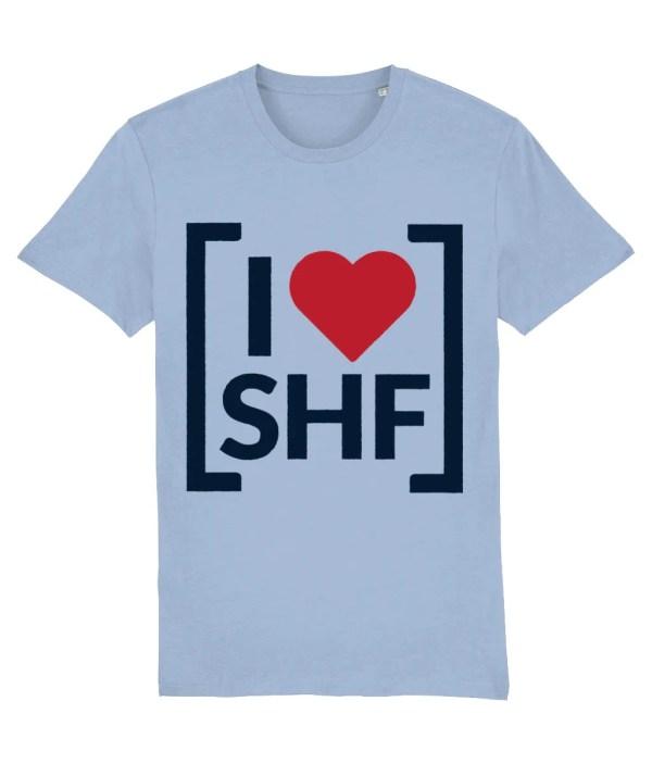 I LOVE SHEFFIELD [SHF] T-Shirt, Sky Blue