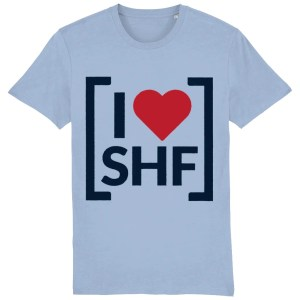 I LOVE SHEFFIELD [SHF] T-Shirt, Sky Blue