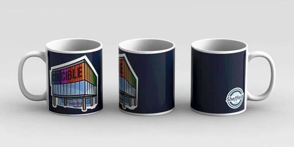 Crucible Theatre Sheffield Mug — Art by James