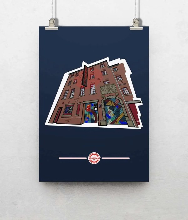 The Leadmill Sheffield Poster Print — Art by James
