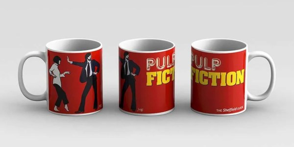 Pulp Fiction (Jarvis Cocker) Mug — Art by James