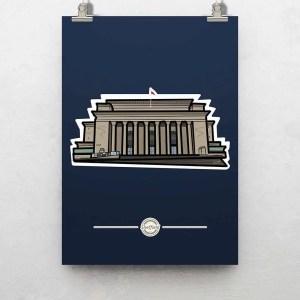 Sheffield City Hall Poster Print — Art by James