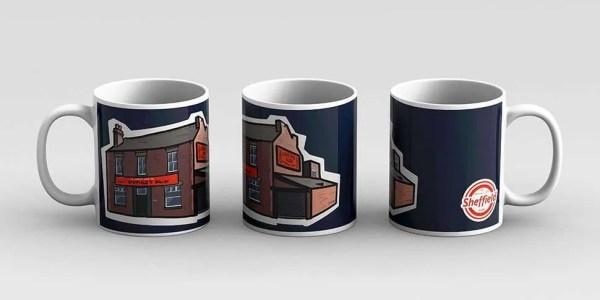 Sheffield Relish Factory Mug — Art by James