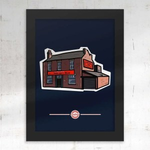 Sheffield's Relish Framed Poster Print — Art by James