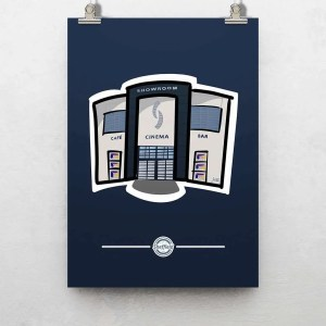 The Showroom Sheffield Poster Print — Art by James