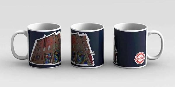 The Leadmill Sheffield Mug — Art by James