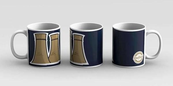 Tinsley Towers Sheffield Mug — Art by James
