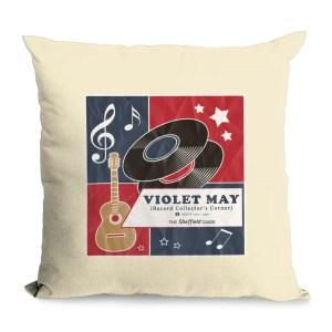 Violet May Sheffield Natural Cushion