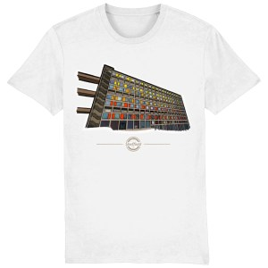 Park Hill Sheffield T-Shirt, White