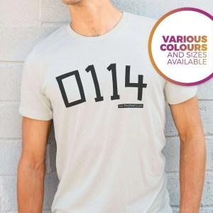 0114 Sheffield (Arctic Monkeys) T-Shirt