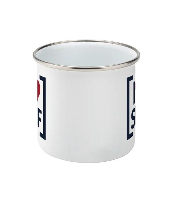 I LOVE SHEFFIELD [SHF] Enamel Mug