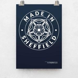 Made in Sheffield Art Print