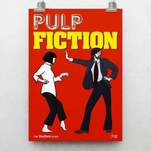 Pulp Fiction (Jarvis Cocker) Poster Print — Art by James