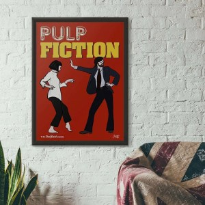Pulp Fiction (Jarvis Cocker) Framed Print — Art by James