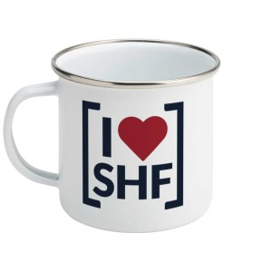 I LOVE SHEFFIELD [SHF] Enamel Mug