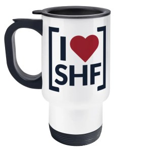 I LOVE SHEFFIELD [SHF] Travel Mug