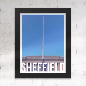 Barkers Pool (Sheffield City Hall) Sheffield Destination Framed Print