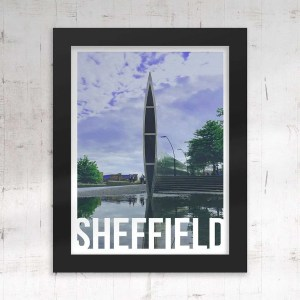 Cutting Edge Sheffield Framed Print