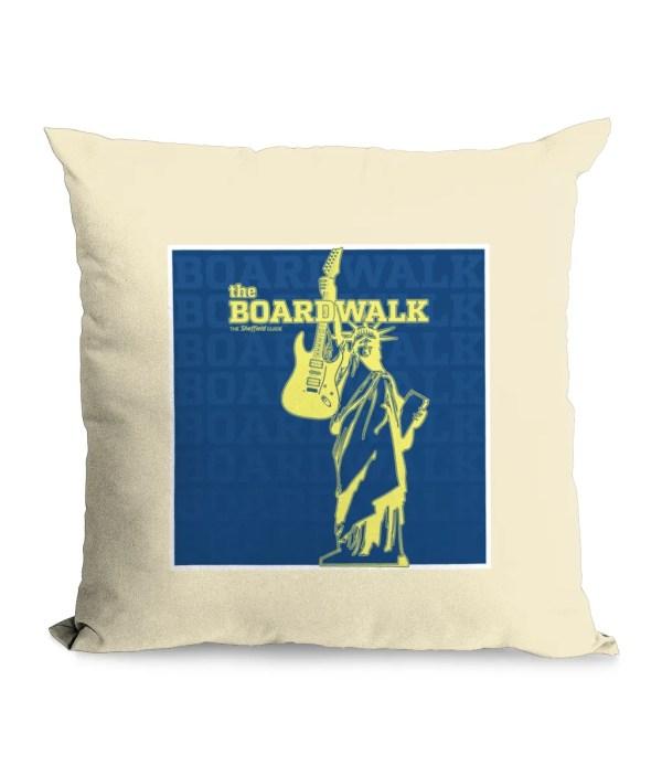 The Boardwalk Sheffield Natural Cushion