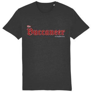 The Buccaneer Sheffield Pub T-Shirt, Dark Heather Grey
