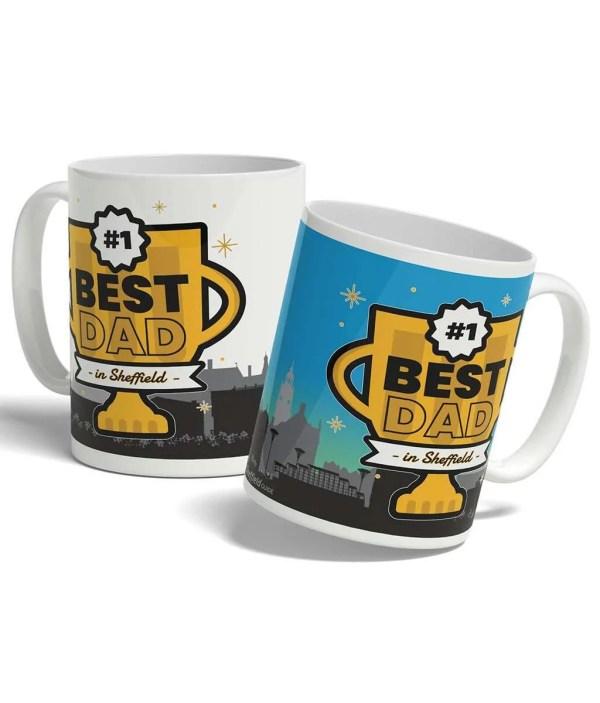 Best Dad in Sheffield Mug
