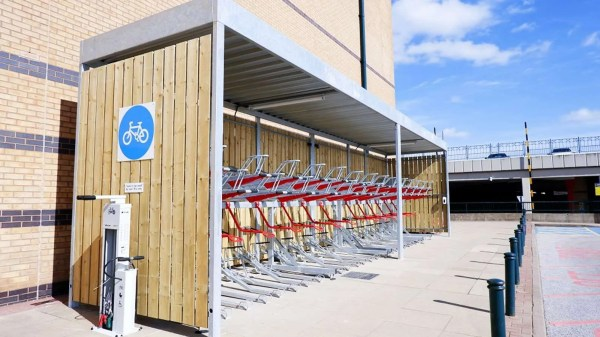 New Bicycle Hubs at Meadowhall Shopping Centre