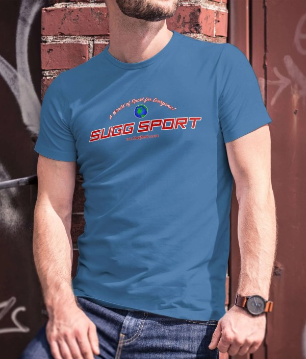 Sugg Sport Sheffield T-Shirt, Royal Blue