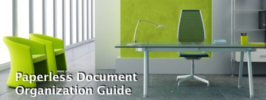Paperless Document Organization Guide banner