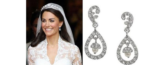 Kate Middleton Drop Earrings Kenneth Jay Lane Royally Chic
