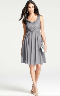 David s Bridal Strapless Crinkle Chiffon Dress with Mikado Sash Ann Taylor Silk Draped Cowl Neck Dress   265   WHITE by Vera Wang Strapless  Crinkle Chiffon Dress with Mikado Sash
