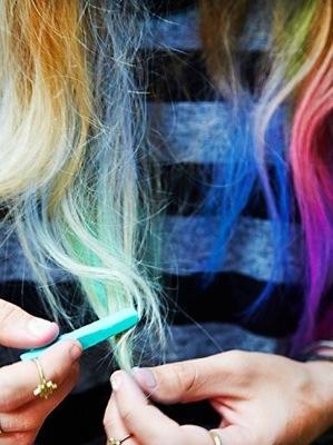 chloe norgaard hair chloe norgaard manic panic colored hair chalk free people colored