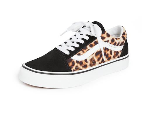 leopard Vans sneakers on sale