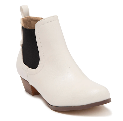 Nordstrom Rack white ankle boots sale