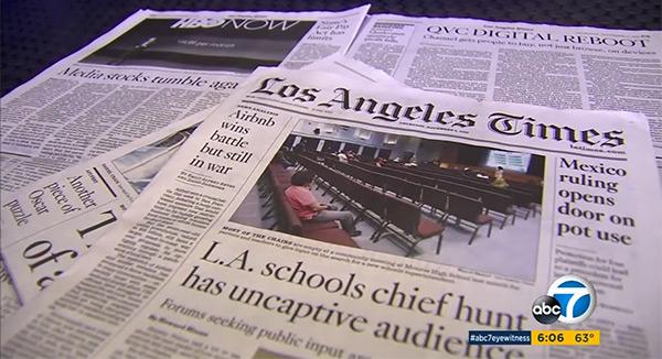 ABC7 TJ Simers Speaks After 7 Million Verdict With LA Times