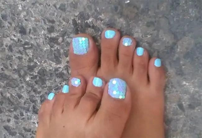 Trendy Summer Toe Nail Polish Ideas 2017 Sheideas