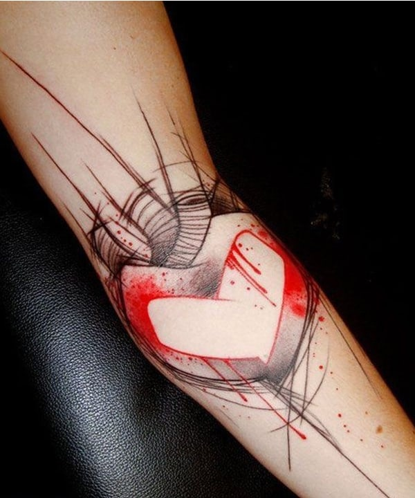30 Lovely Valentines Day Tattoos Ideas 2018 SheIdeas