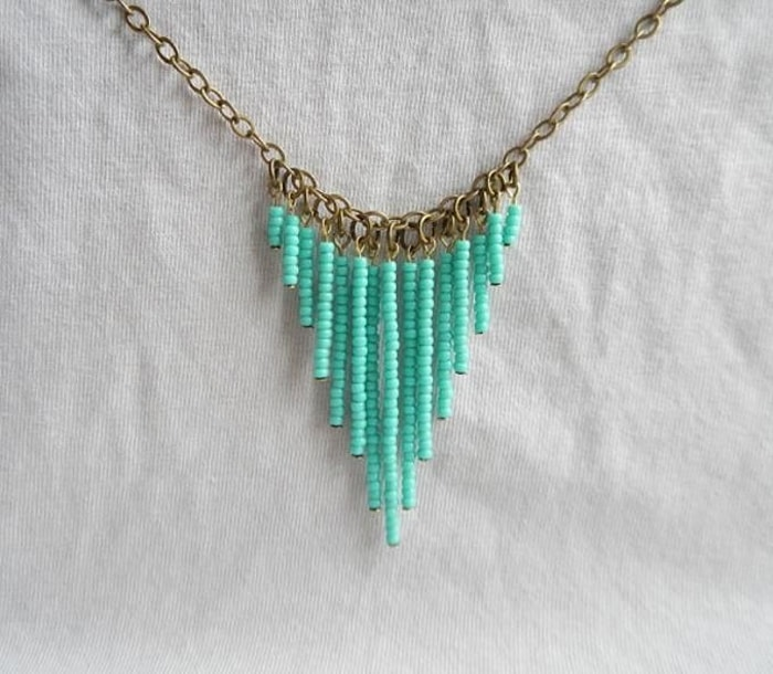 Image Result For Turquoise Rope Necklace