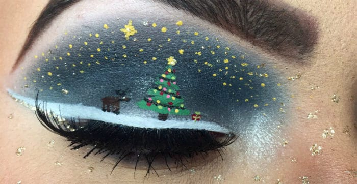 25 Best Christmas Makeup Looks For Ladies SheIdeas