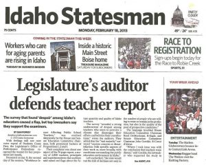 Image of Idaho Statesman newspaper