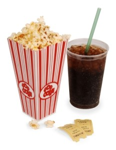 popcorn and soda pop