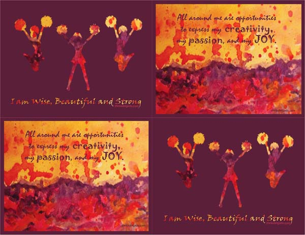 I am wise postcards